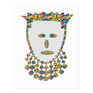 Jewel Carved Prince Princess ART by NAVIN Joshi Postcard