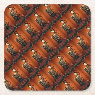 Jewel Empress Square Paper Coaster