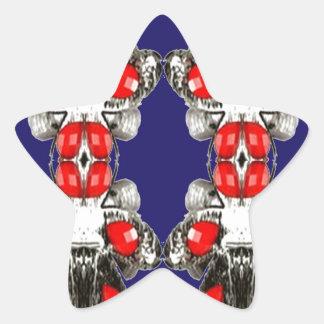 Jewel Imitation Decorative OCCASION GIRLY GIRL MOM Star Sticker