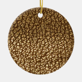 Jewel like texture on leather background template round ceramic decoration