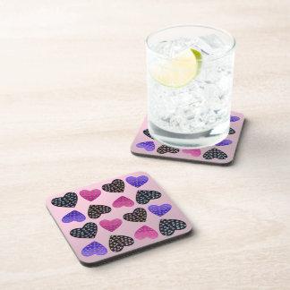 Jewel of Hearts Beverage Coaster