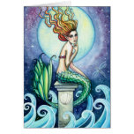 Jewel of the Sea Mermaid Card by Molly Harrison