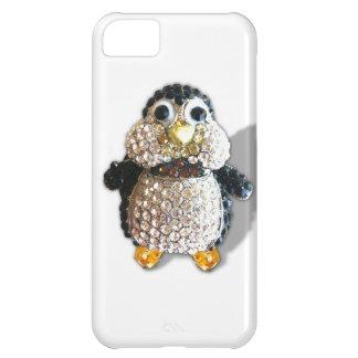 Jewel Sparkle Penguin Cute Pretty iPhone 5C Case