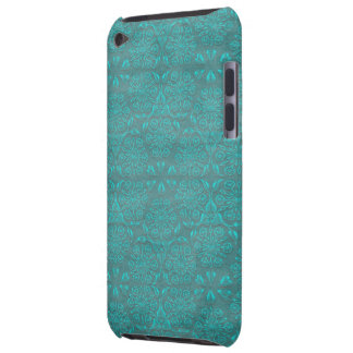 Jewel Teal Print iPod Touch Case