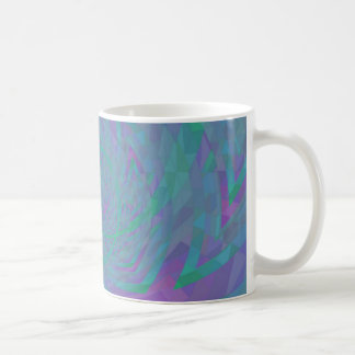 Jewel Tone Spiral Coffee Mug