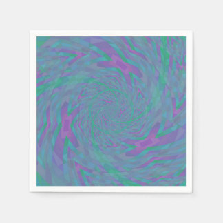 Jewel Tone Spiral Disposable Napkin