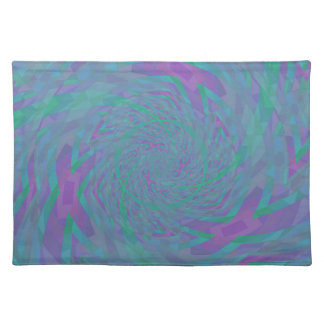 Jewel Tone Spiral Placemat