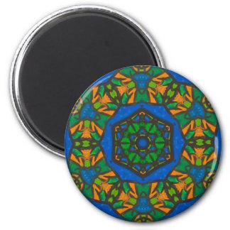 Jewel-toned Mandala Magnet
