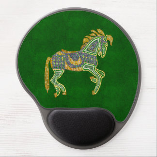Jeweled Artistic Horse Gel Mouse Pads
