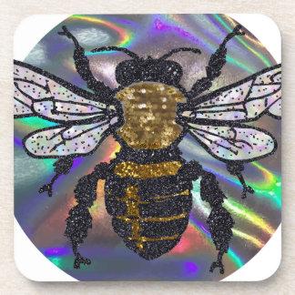 jeweled bee coaster