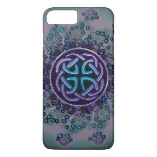 Jeweled Celtic Fractal Mandala iPhone 7 Plus Case