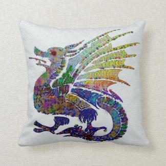 Jeweled Dragon Cushion