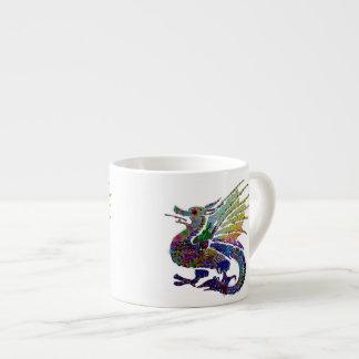 Jeweled Dragon Espresso Mug