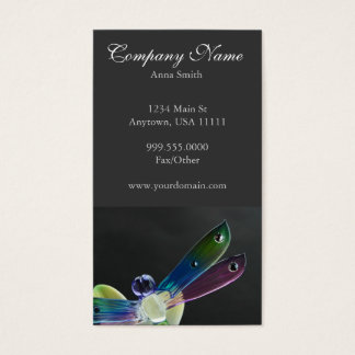 Jeweled Dragonfly Business Card