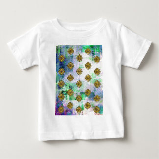 JEWELED EAGLE CREST PATTERN BABY T-Shirt
