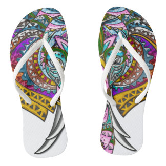Jeweled Elephant, Slim Straps Thongs