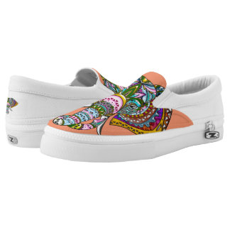 Jeweled Elephant, Zipz Slip-ons