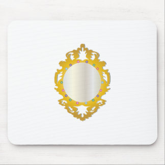 Jeweled Framed Mirror Mouse Pads