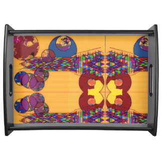 Jeweled Horizon Serving Tray