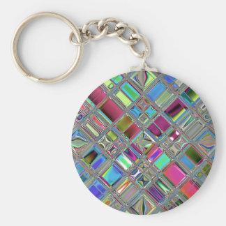 Jewelee Shiney Mosaic Art Keychains