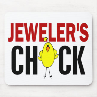 JEWELER'S CHICK MOUSE PADS