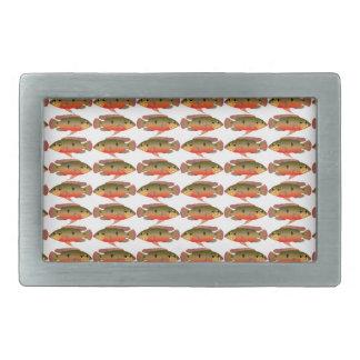 Jewelfishpattern9kwwb Belt Buckles