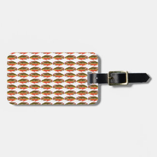 Jewelfishpattern9kwwb Luggage Tag