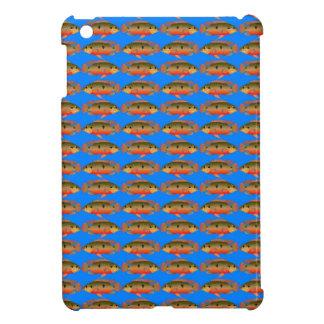 JewelfishPattern in sea blue iPad Mini Cases