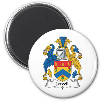 Jewell Family Crest Magnet