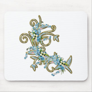 jewell flowers mouse pad