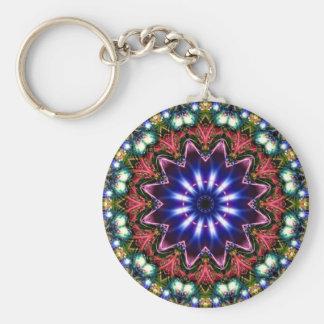 Jewelled Kaleidoscope 11 Key Chain
