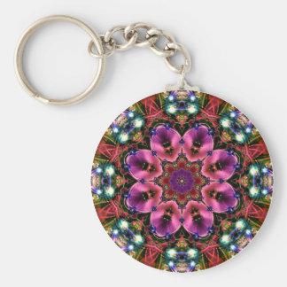 Jewelled Kaleidoscope 25 Keychain