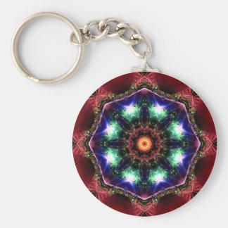 Jewelled Kaleidoscope 26 Keychain