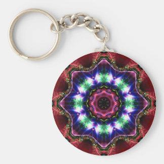 Jewelled Kaleidoscope 34 Keychain