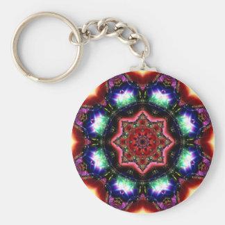 Jewelled Kaleidoscope 39 Keychain