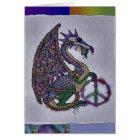 Jewelled Peace Dragon Card