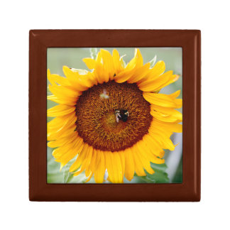 Jewelry Box Sunflower Design