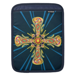 Jewelry cross iPad sleeve