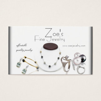 jewelry retail business card