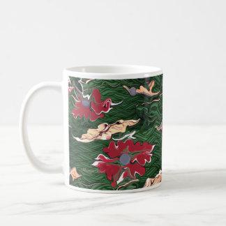 Jewels abstract art mug