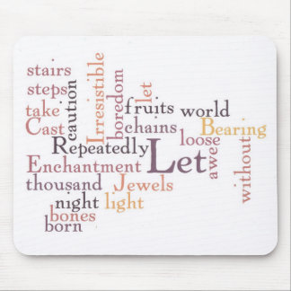 Jewels of Awe Mouse Pad