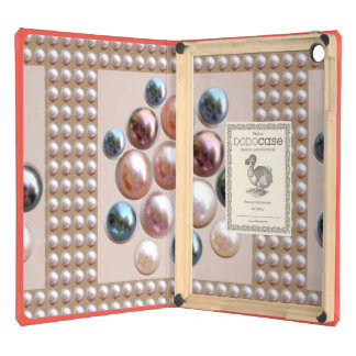 JEWELS PEARLS PATTERN  : Elegant  Safety Tools Cover For iPad Air
