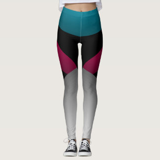 Jeweltones Colour Sporty Chic Slimming Sports Leggings