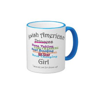 Jewish American Girl Coffee Mugs