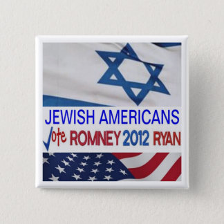 Jewish Americans for Romney Ryan 2012 Button