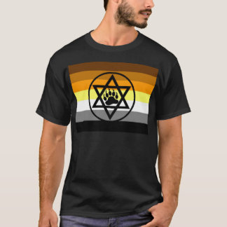 Jewish Bear Pride Flag T-Shirt