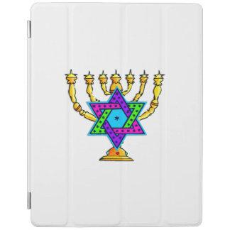 Jewish Candlesticks iPad Cover
