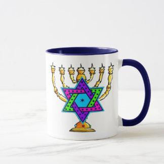 Jewish Candlesticks Mug