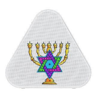 Jewish Candlesticks Bluetooth Speaker