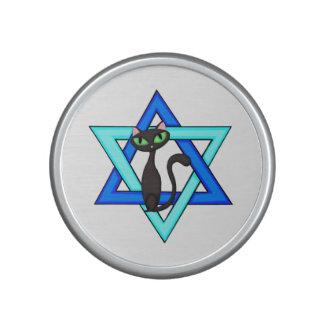 Jewish Cat Stars Bluetooth Speaker